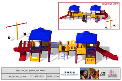 Fleetwood Community Build Playground Drawing